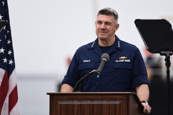 Schultz: Coast Guard Busy, Relevant and In Need of More Investment
