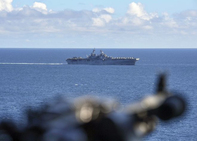 Boxer Amphibious Ready Group, 11th MEU Leave on Scheduled Pacific, Middle East Deployment