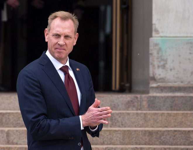White House: Patrick Shanahan Will be Nominated to Become SECDEF