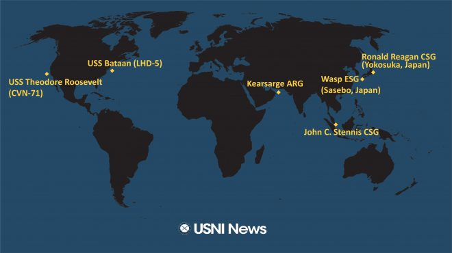 USNI News Fleet and Marine Tracker: March 4, 2019