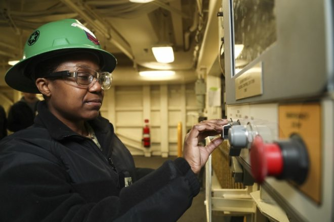 Second Weapons Elevator Accepted Aboard USS Gerald R. Ford