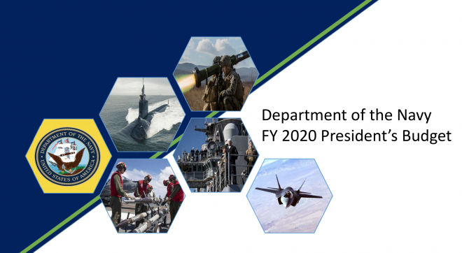 Document: Department of the Navy FY 2020 Budget Summary