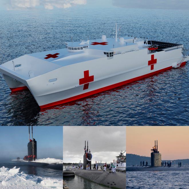 Navy's $3.2B Unfunded List Includes Asks for Attack Boat Repair Money, 'Ambulance' Vessel