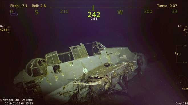 Wreckage Of World War II-Era Carrier USS Wasp Discovered