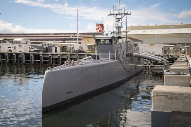 Navy to Expand Land-Based Testing for Unmanned Vessels, Conduct Offensive Firepower Analysis for USVs