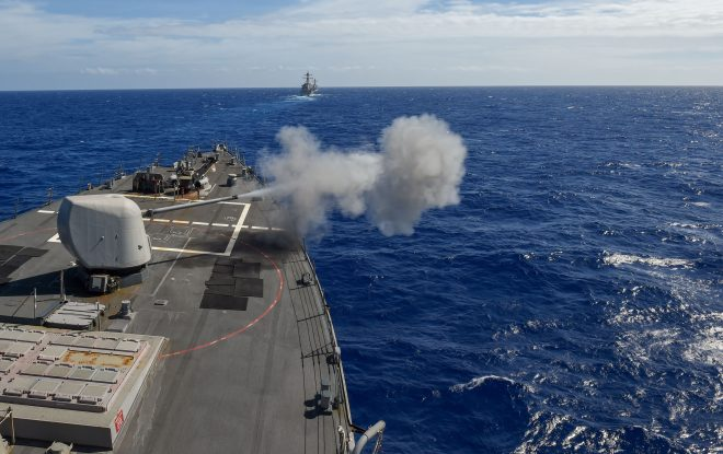 7th Fleet Ships Conduct First High-End Advanced Training Event with SMWDC