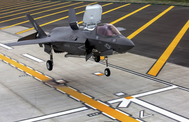 Marines Folding F-35B into New Pacific Island-Hopping Concept
