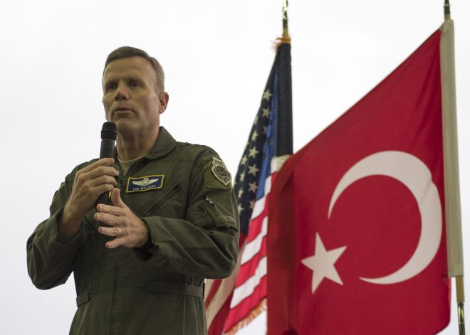 EUCOM Nominee: Turkey's Purchase of Russian Air Defense System 'Not Compatible' With F-35 Buy