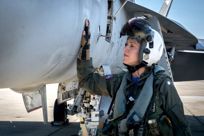 Navy Fighter Readiness Nearing 80 Percent Mission Capable Target