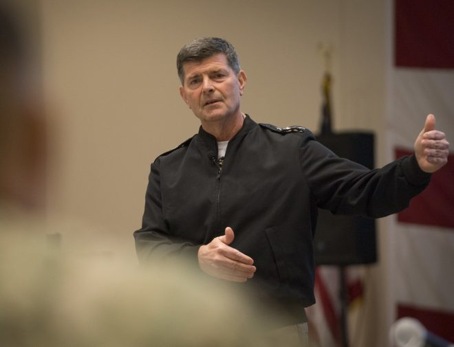 UPDATED: VCNO Moran Nominated for Top Navy Job as Service Prepares for a High-End Future