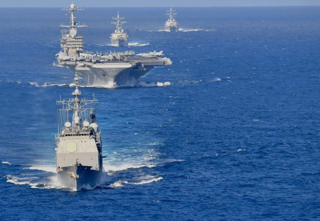 Truman Carrier Strike Group will Replace Eisenhower CSG for Upcoming Deployment