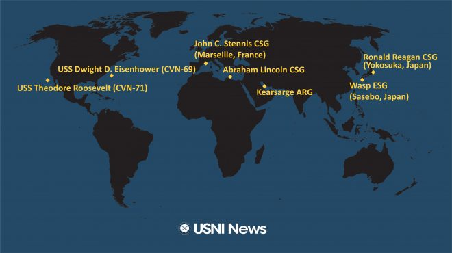 USNI News Fleet and Marine Tracker: April 29, 2019