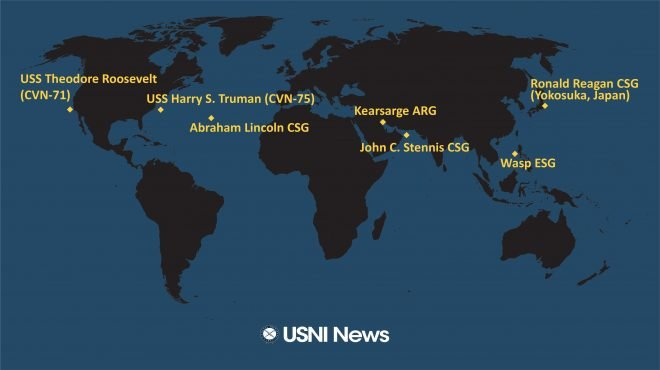 USNI News Fleet and Marine Tracker: April 8, 2019