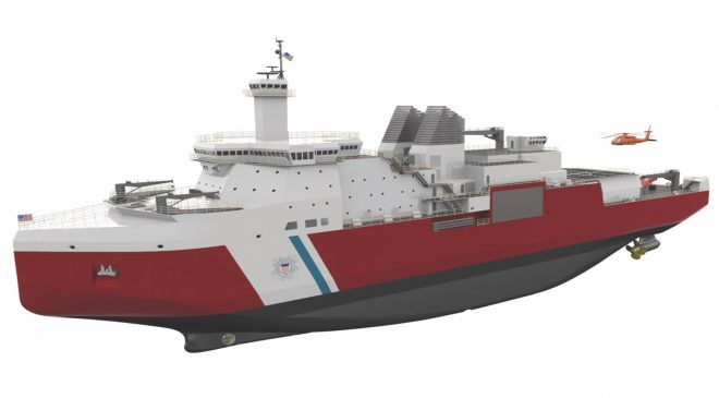 Coast Guard Polar Security Cutter will be Homeported in Seattle