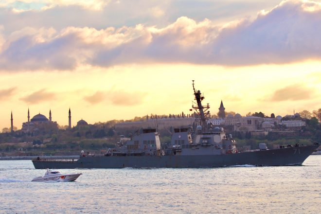Destroyer USS Ross Enters Black Sea, Fourth U.S. Warship Since 2019