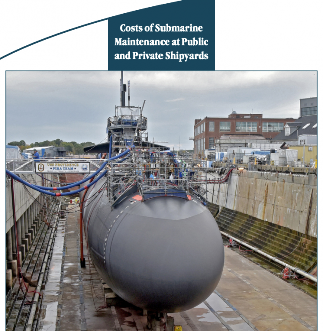 CBO Report on Navy Submarine Maintenance Costs
