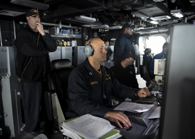 Navy Conducts First LCS Advanced Training with Pair of Ships; Larger Event Planned this Summer