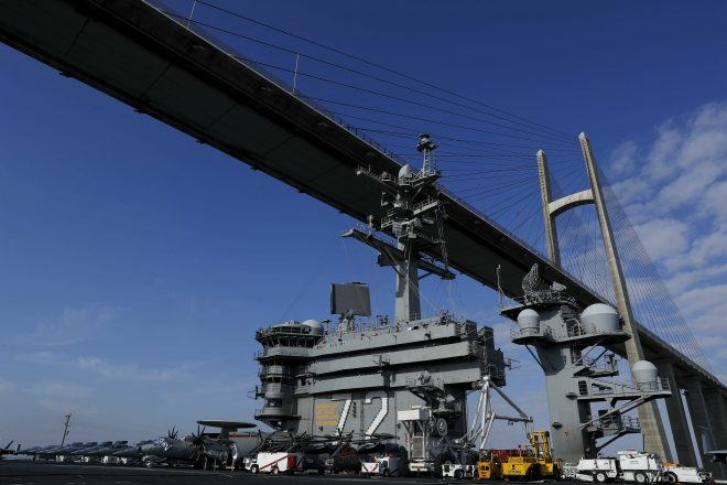 UPDATED: USS Abraham Lincoln Operating in Middle East After 'Expedited' Transit