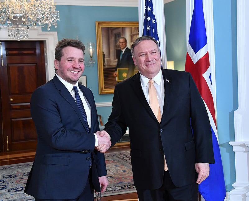 Iceland Foreign Minister Praises NATO Support Against