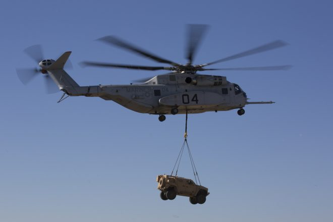 Marines, NAVAIR Declare CH-53K Heavy-Lift Helo Engine Problems Resolved