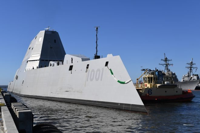 Navy Stands Up Surface Development Squadron for DDG-1000, Unmanned Experimentation
