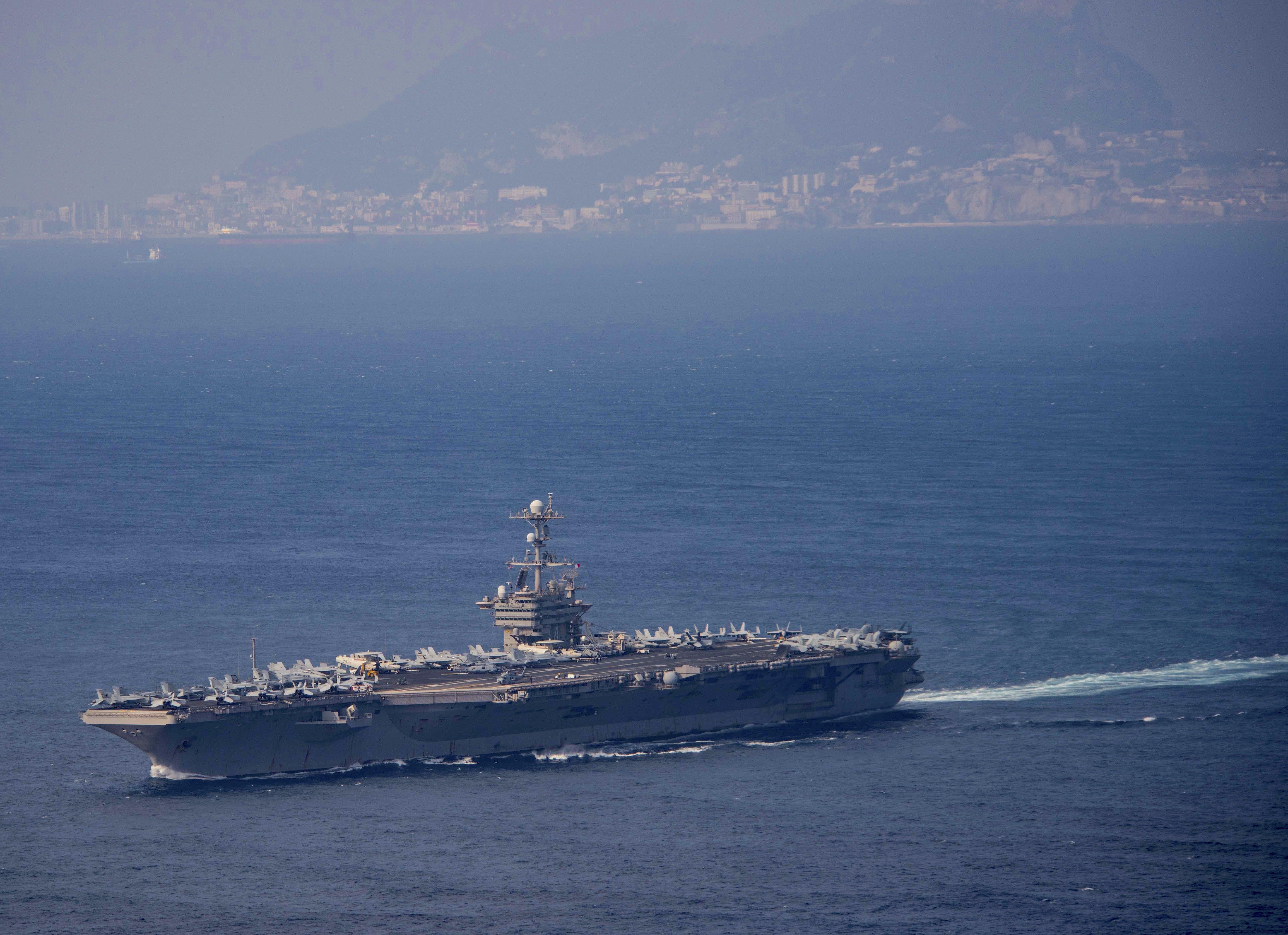 Операции ВМС США в Мировом океане на 8 мая. КОН высокий...