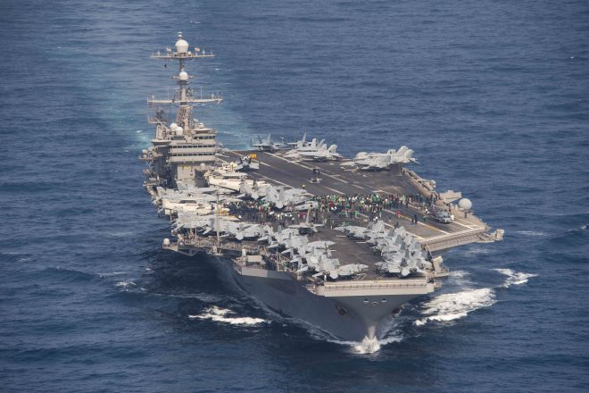 USS John C. Stennis Expected to Arrive in Norfolk on Thursday