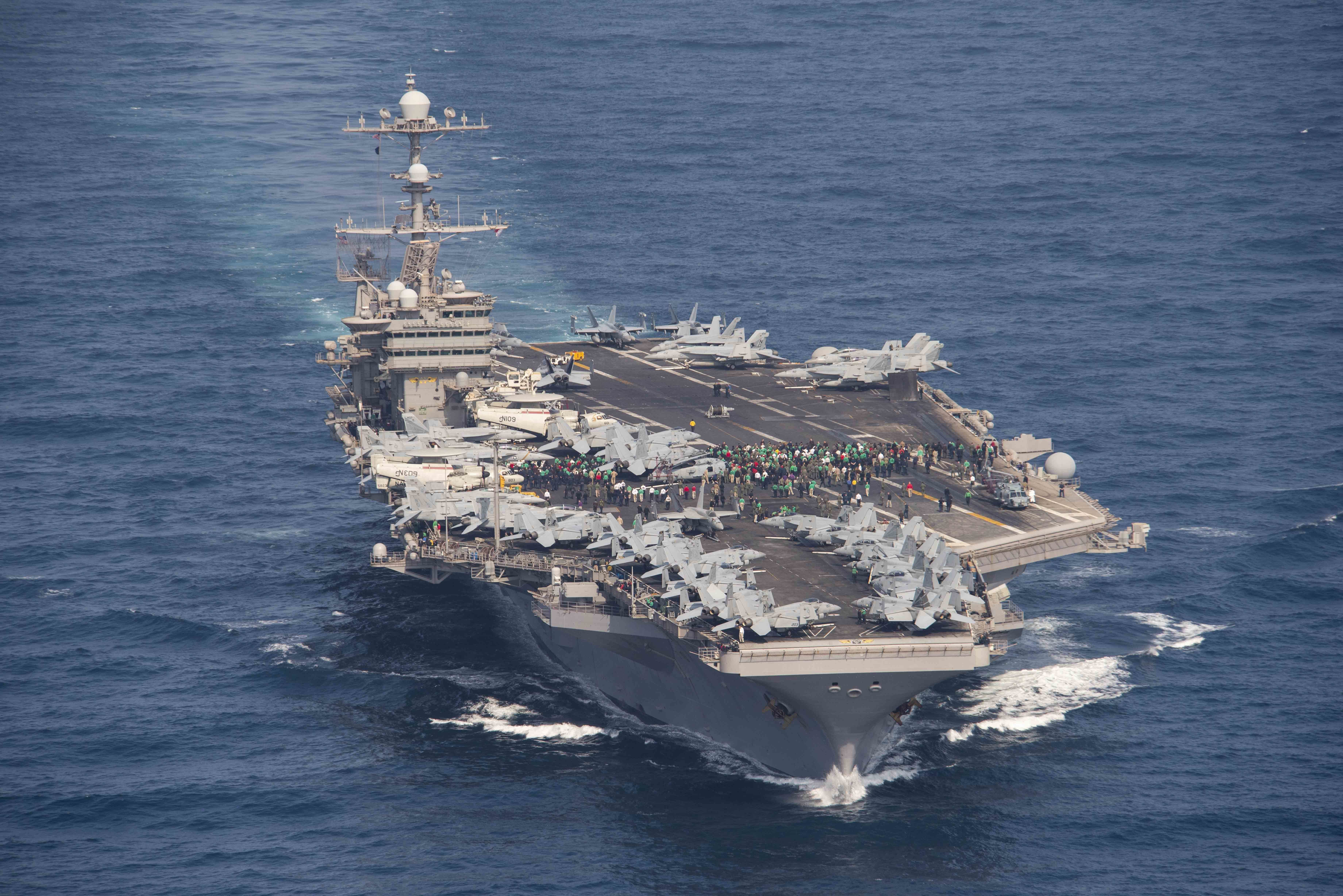 USS John C  Stennis Expected to Arrive in Norfolk on