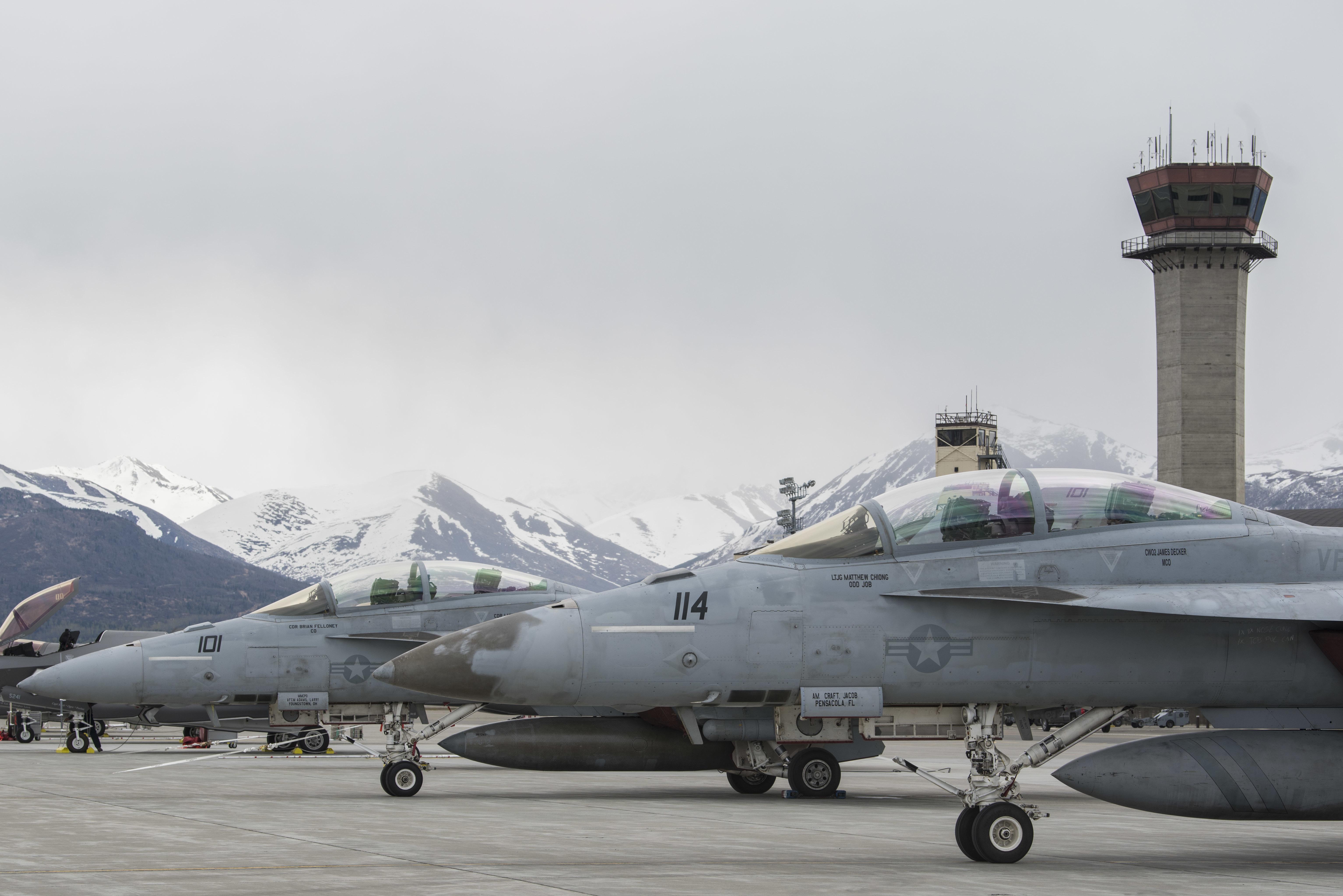 Roosevelt Strike Group in Alaska for High-End Exercises