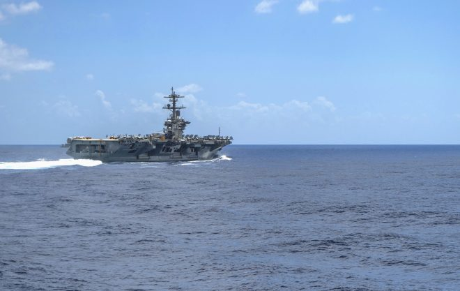 Search Underway for Sailor Missing from USS Abraham Lincoln