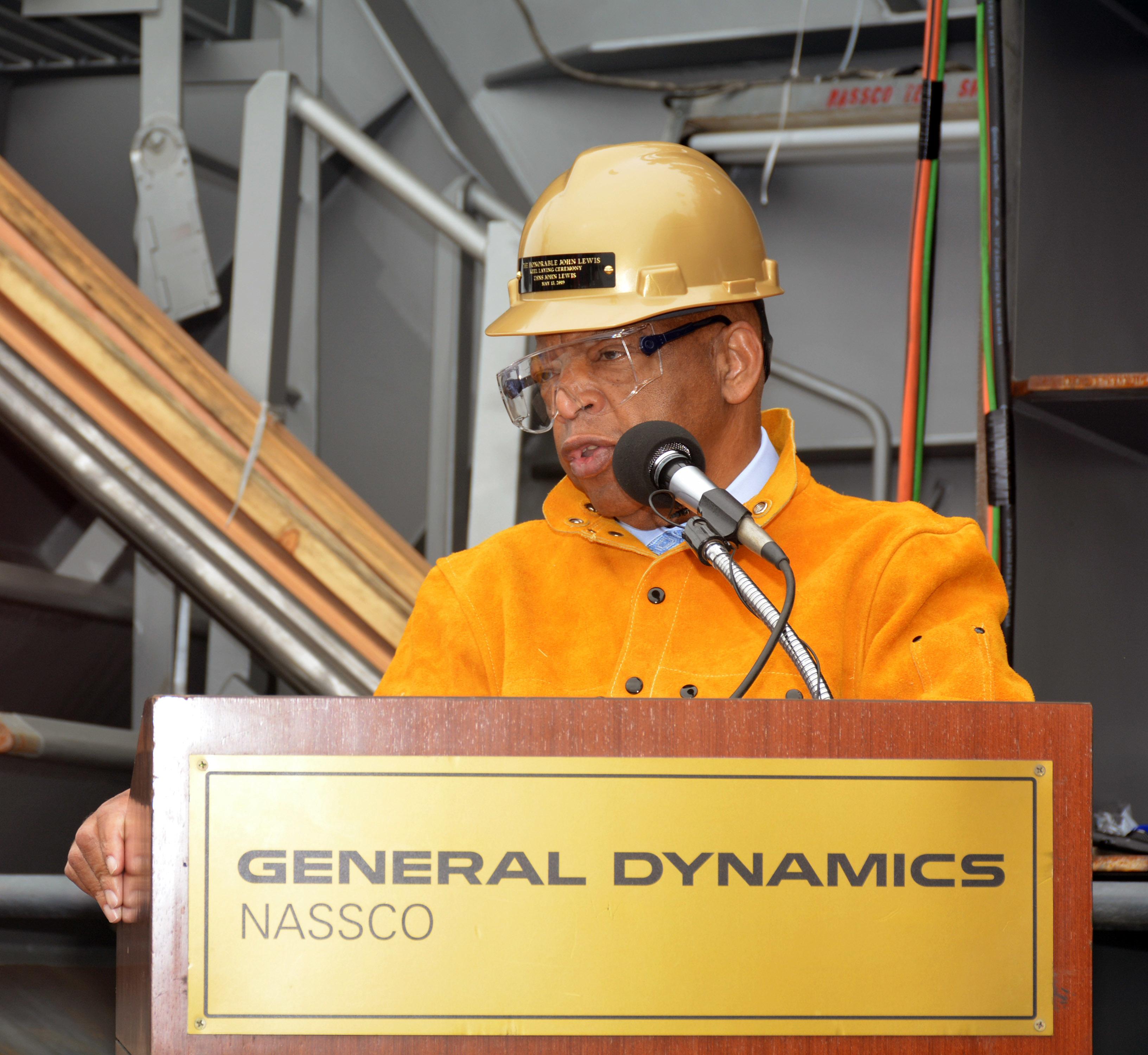 John Lewis-Class Oilers Begin Construction at NASSCO - USNI News