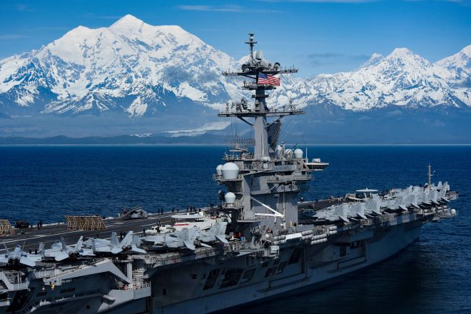 Carrier Strike Group, 15th Marine Expeditionary Unit Will Join Air Force in Massive Alaska Exercise