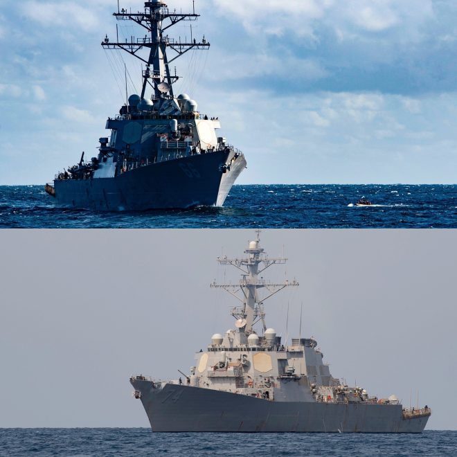 Two U.S. Warships Enter Persian Gulf Without Incident