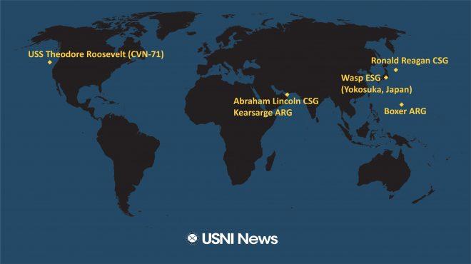 USNI News Fleet and Marine Tracker: May 27, 2019