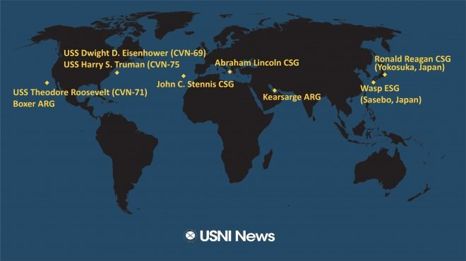 USNI News Fleet and Marine Tracker: May 6, 2019