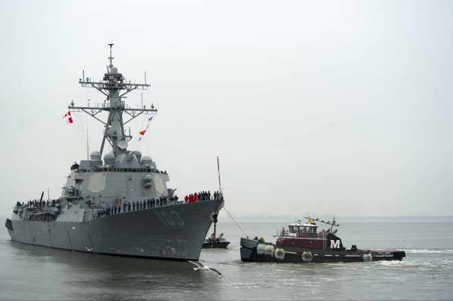 Lawmakers Want Navy to Take New Look at Destroyer Hybrid Electric Drive