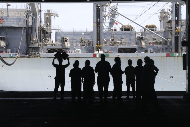 Navy Supply Community Trying to Keep Up With Near-Peer Threats, Dynamic Force Employment