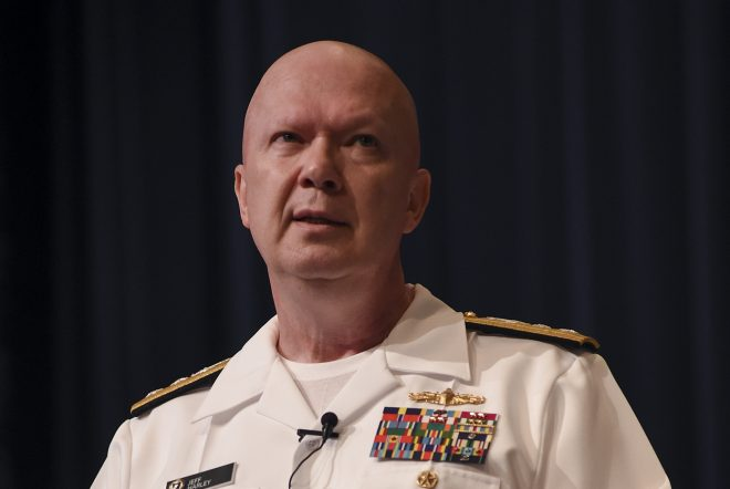 Naval War College President Harley Reassigned Pending Investigation