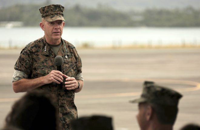 Berger Confirmed as Next Marine Commandant After Senator Drops Hold