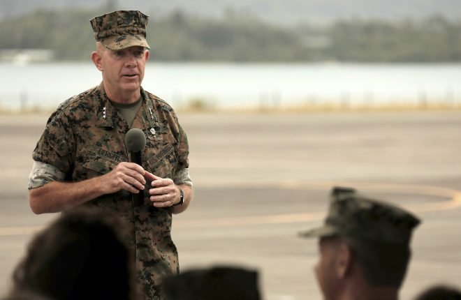 Berger Confirmed as Next Marine Commandant After Senator Drops Hold