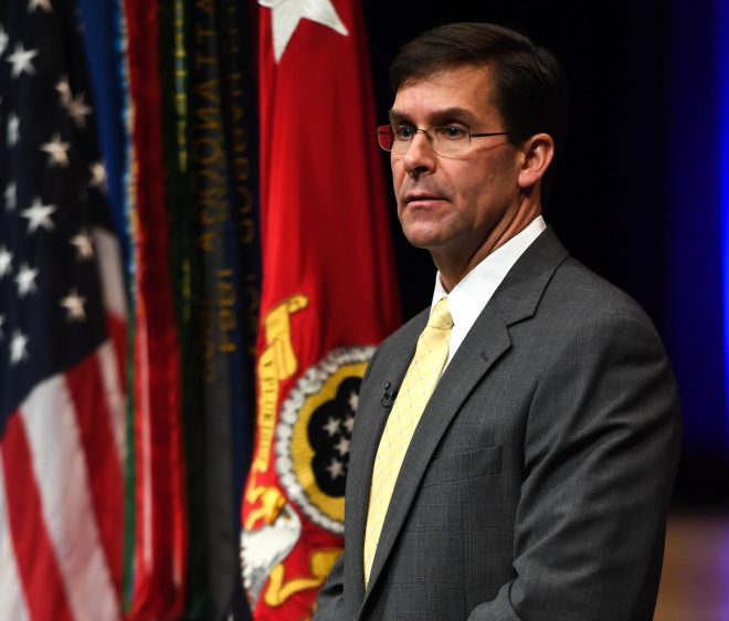 Acting SECDEF Esper's First Message to Pentagon