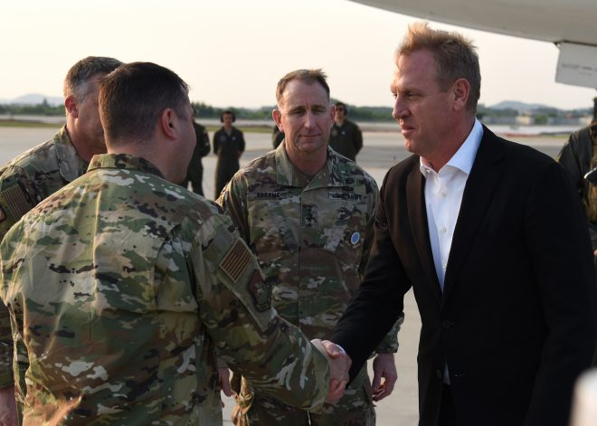 Acting SECDEF Shanahan Reminds Pentagon to Stay Apolitical Following 'McCain Situation'