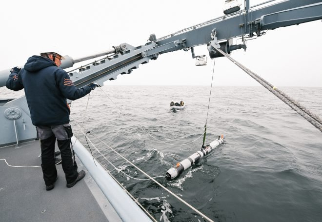 BALTOPS 19: Navy Tests New Mine Hunting Kit With European Allies