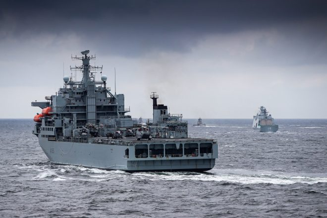 New U.K.-Led Maritime First Responder Force Takes to Sea at BALTOPS
