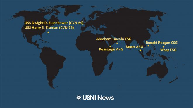 USNI News Fleet and Marine Tracker: June 10, 2019