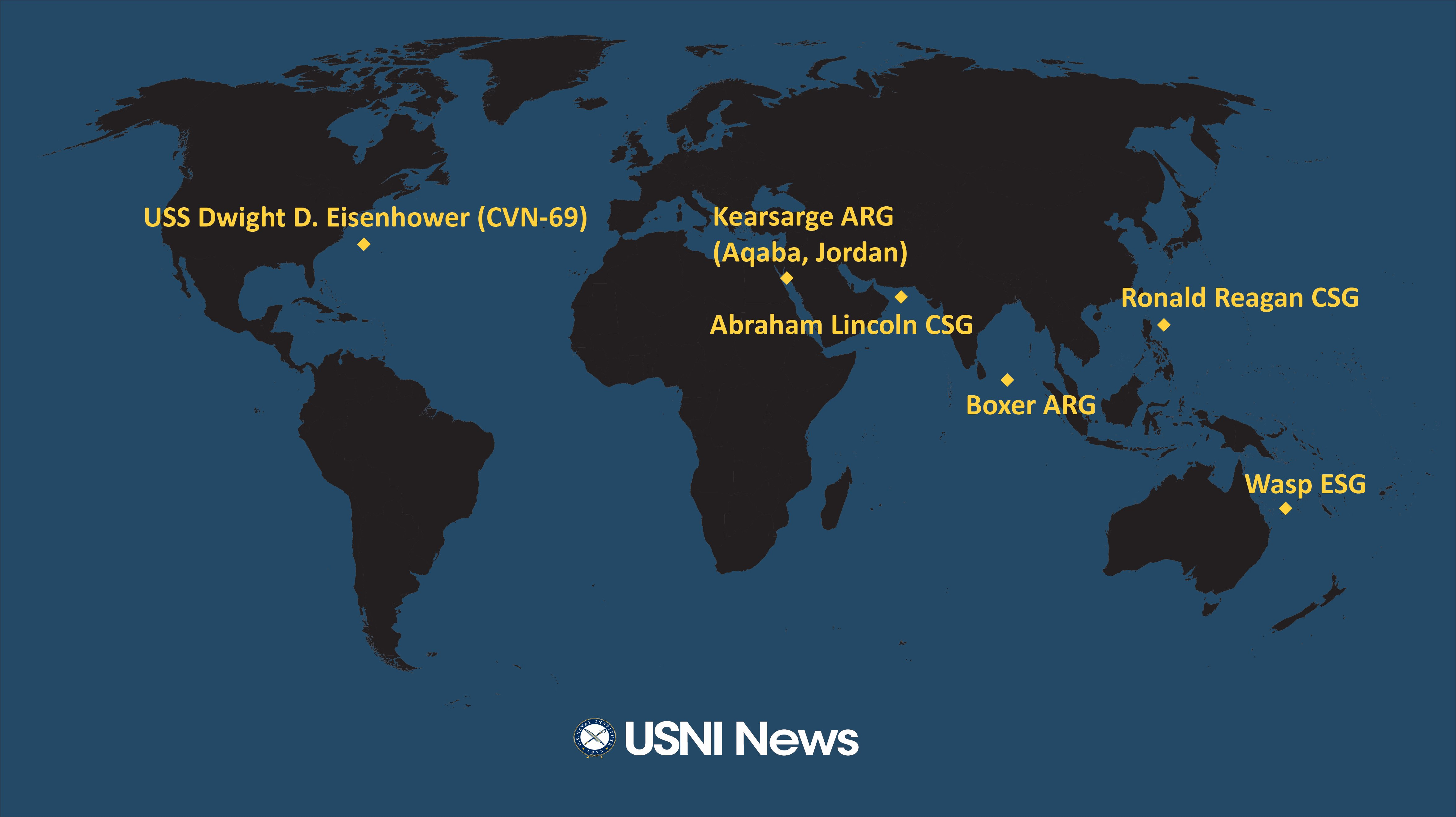 USNI News Fleet and Marine Tracker: June 17, 2019