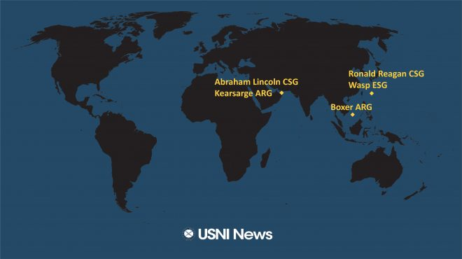 USNI News Fleet and Marine Tracker: June 3, 2019