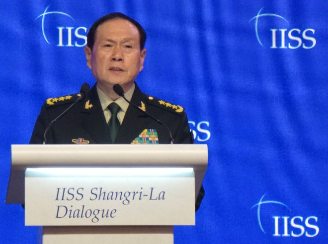 Shangri-La: Chinese Defense Minister Talks Tough on South China Sea, Taiwan