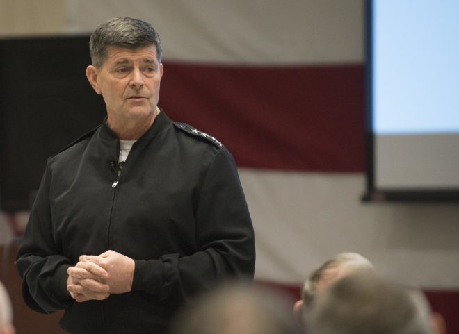 Navy Faces Time Crunch in Nominating Moran Replacement for CNO Job