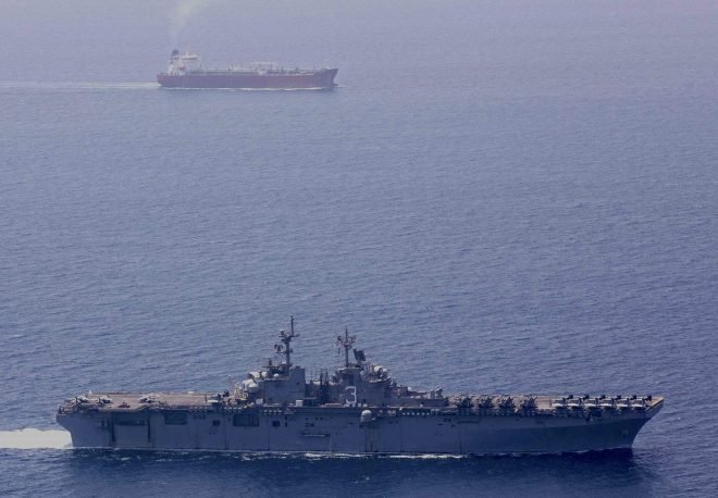 Report: U.S. Shoulders Steep Price to Protect Merchant Ships in Strait Of Hormuz